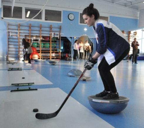 Хоккейные тренажеры своими руками 711